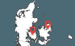 103 har kontorer på Fyn og på Sjælland