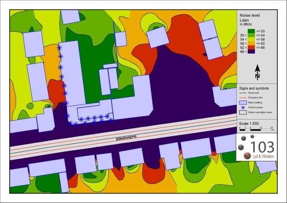 Støjmåling software 103